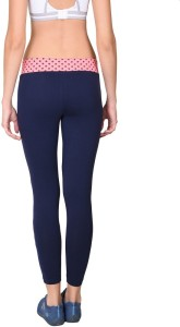f7cd3de8b1b Onesport Printed Women s Dark Blue Tights Best Price in India ...