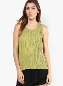 91a51329b4e Vero Moda Casual Sleeveless Solid Women s Green Top Best Price in India | Vero  Moda Casual Sleeveless Solid Women s Green Top Compare Price List From Vero  ...