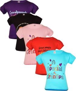 Gkidz Girls Printed T Shirt