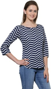 Stop Look Casual 3/4th Sleeve Printed Women Multicolor Top