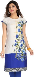 Meher Impex Casual Cap Sleeve Floral Print Women's Multicolor Top