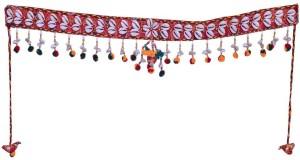 eb4ce054ac6 Indigo Creatives Diwali Door Auspcious Shankh Toran with Latkan set  Decoration - 200710 Toran Price List