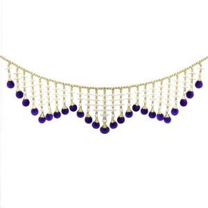 7c112be8fb1 Creativity Centre Purple Velvet Balls Attractive Bandanwar Door Hanging  Toran