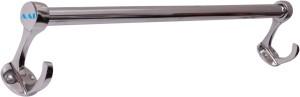 Aai Royal Hook Stainless Steel 24 inch 1 Bar Towel Rod