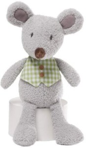 Gund Mini Meadow Mossly Gray Mouse Plush