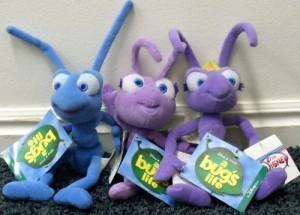 Disney Retired Bug'S Life Flikattaand Dot 9