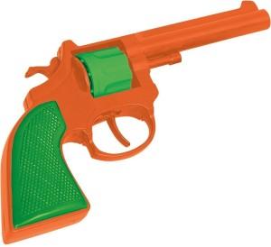 Rubie's Old West Gunfighter Toy Revolver Cap PistolOrange, Green