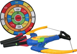 Adraxx Exciting Crossbow with Foam Darts and Sticking Target