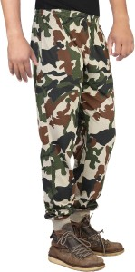 751dc6b7a60 Finger s Printed Men s Green Track Pants Best Price in India ...