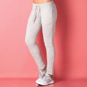 83bd278b8ef6 Puma Solid Women s Grey Track Pants Best Price in India