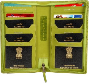 Sukeshcraft 2gether-Passport Holder for 4Green