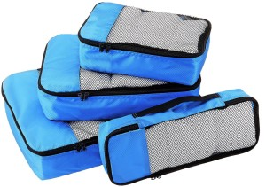 Walletsnbags PACKING CUBES -SET OF 4 (SMALL .MEDIUM , LARGE AND SLIM)