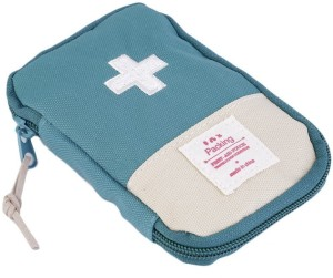 Shopo Small First Aid Kit Travel Pouch Medicine Storage Bag