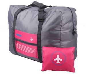 Shopo Foldable Happy Flight Travel Luggage Water Resistant Easy Carry Bag