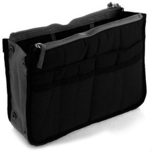 PackNBUY Multipurpose Hand Bag Organizer Black Color
