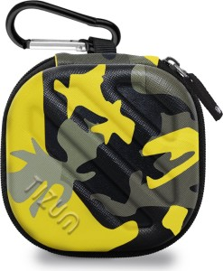 TIZUM Earphone Carrying Case - Multi Purpose Pocket Storage Travel Organizer for Headphone, Pen Drives, Memory Card, Cable