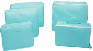 PackNBUY 5 In 1 Bag Blue Color Set Of 5 Different Sizes