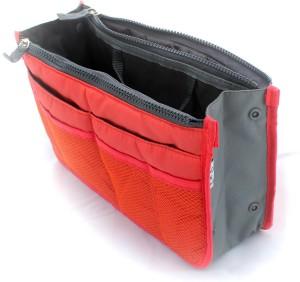PackNBuy Multipurpose Hand Bag Organizer Red Color