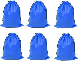 DE MODA Travel Organizer-Pack of 6 -Blue)