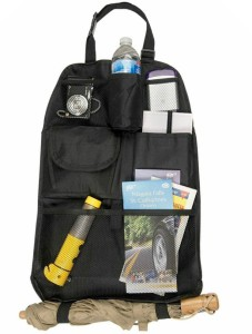 PackNBUY Large Capacity Car Auto Vehicle Back Seat Multi Pocket Storage For Bottle, Books, Magazine