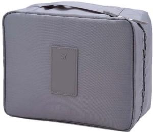 6cbdf1d67213 Royaldealshop Waterproof Multi Pouch Travel Toiletry Cosmetic Makeup Case  Storage Bag With Handle (Grey)Grey