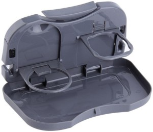 DIZIONARIO Foldable Car Dining Meal Drink Tray 1pc