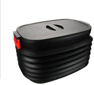 Vmore Foldable Collapsible Plastic Car Boot Trunk organizer