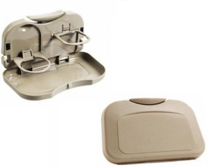 AutoSun Foldable Car Dining Meal Drink Tray Set Of 2 Tata Bolt
