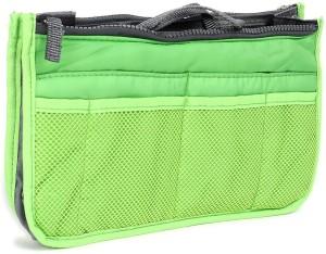 PackNBUY Multipurpose Hand Bag Green Color