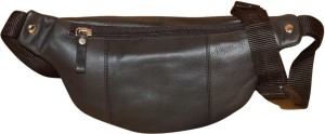 Style 98 Genuine Leather Travel Money Pouch for Men and Women Waist BagBlack cd1b88920e08f