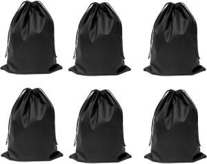 DE MODA Travel Organizer(Pack of 6-Black)