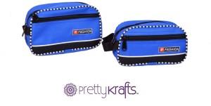 Pretty Krafts B1103 Travel Shaving Kit & Bag