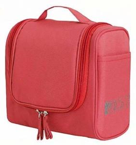 Royaldealshop Make-up Cosmetic Carry Case Hanging Organizer Travel Toiletry Kit