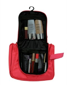0e0551876c2b Kuber Industries Waterproof Travel Bag Beauty Make Up Toiletry Wash Bag  Zipper Cosmetic Case Organiser Party