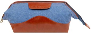 Classy Travel Stores The Blueberry Brown essential bag Travel Toiletry Kit
