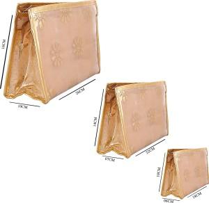 Arisha Kreation Co AK-1081 Golden Travel Toiletry Kit