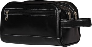 Leather World classic Travel Toiletry Kit