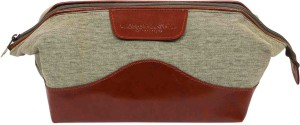 Classy Travel Stores The Pistachio Brown essential bag Travel Toiletry Kit