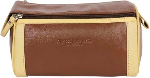 Classy Travel Stores The ButterScotch essential bag Travel Toiletry Kit