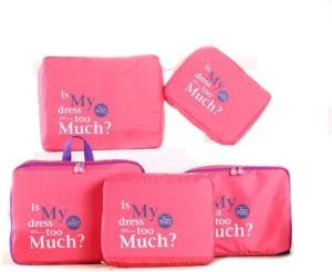 Evana Set Of 5 Travel Toiletry Kit