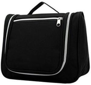 b229328e4a Ruby Travel toiletry bag with handle Black Travel Toiletry Kit Black ...