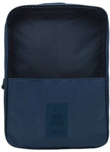 Swadec Shoe Luggage Cosmetic Hanging Bag - NAVY BLUE Travel Toiletry Kit