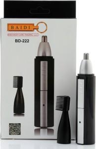 Baidi BD-222 Nose Ear & Eyebrow Cordless Trimmer