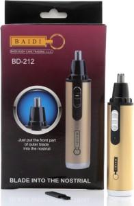 Baidi BD-212 Nose Ear & Eyebrow Cordless Trimmer