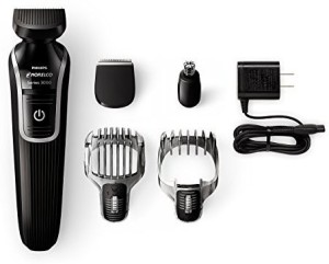 Philips Norelco Multigroom Series 3100, 5 Attachments Corded Trimmer