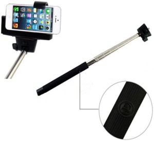 Aeoss Bluetooth Wireless Mobile & Camera Shutter Monopod Photograph & Video Yourself Monopod Kit