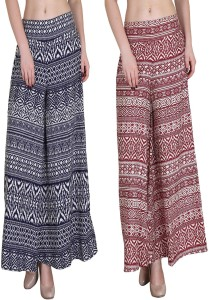 Kannan Regular Fit Women's Multicolor Trousers