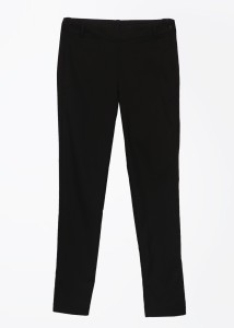 United Colors of Benetton Women's Black Trousers