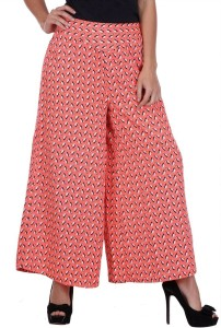 Deewa Regular Fit Women's Pink Trousers