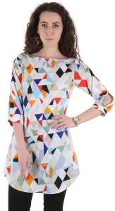 Ruhaan's Geometric Print Women's Tunic
